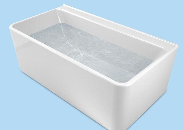 Caroma Cube Back-to-Wall Bath