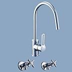 Caroma cirrus laundry mixer set
