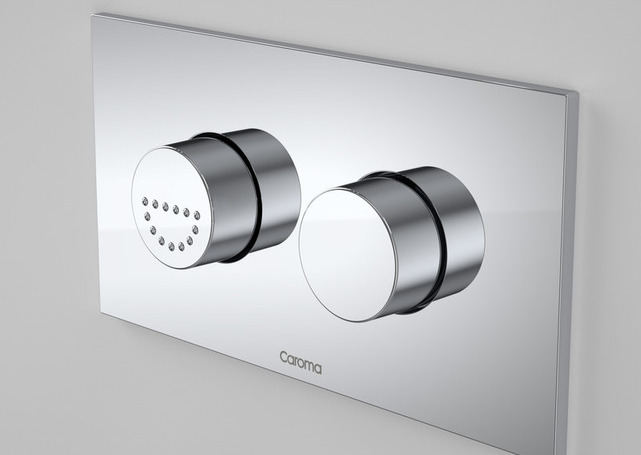 Caroma Invisi II Care Dual Flush Plate