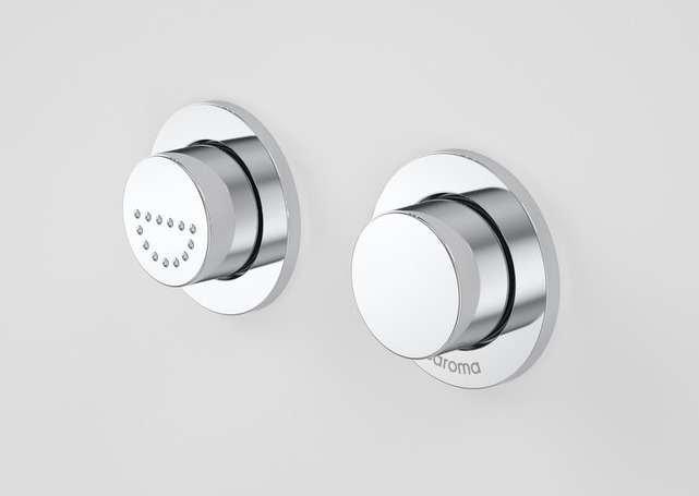 Caroma Invisi II Care Dual Flush Buttons